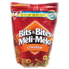 BITS AND BITES - CHEESE FLAVOR - 12 X 175 G