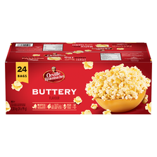 POPPING CORN WITH BUTTER - FOR MICROWAVE - 24 X 99 G - KOSHER