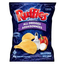 POTATO CHIPS - ALL DRESSED 48 X 40 G