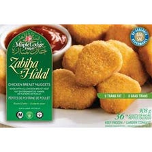 HALAL WHITE CHICKEN NUGGETS - MAPLE LODGE - HALAL