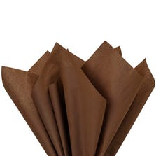 "TISSUE PAPER - BROWN - 20"" X 26"""