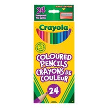 CRAYOLA® PENCIL CRAYONS - 24/PACK