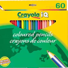 CRAYOLA® PENCIL CRAYONS - 60/PACK