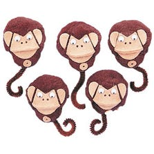 LITTLE MONKEYS FINGER PUPPETS