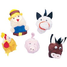 OLD MACDONALD'S FARM FINGER PUPPETS