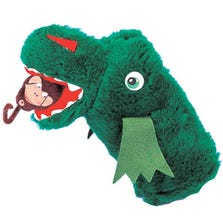 MR. ALLIGATOR HAND PUPPET