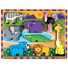 SAFARI ANIMALS PUZZLES