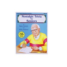 NOSTALGIC TRIVIA FOR SENIORS BOOK *ZT