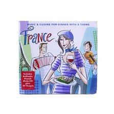 MUSIC & CUISINE FRANCE CD