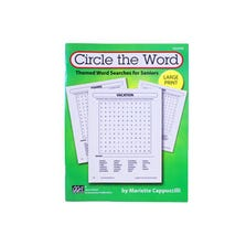 CIRCLE THE WORD THEMED WORD SEARCH FOR SENIORS BOOK