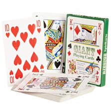 GIANT PLAYING CARDS.