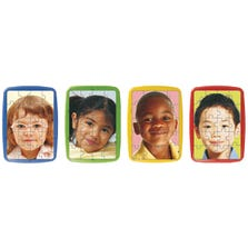 CHILDREN'S FACES PLASTIC PUZZLE