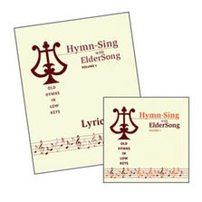 HYMN-SING WITH ELDERSONG VOLUME 1 CD & LYRICS BOOK