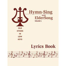 HYMN-SING WITH ELDERSONG VOLUME 1 LYRICS BOOK ONLY