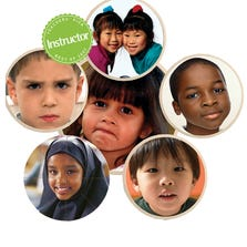 CHILDREN'S FACES FROM AROUND THE WORLD PUZZLE SET