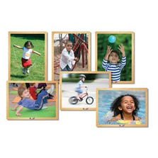 KIDS IN MOTION WOODEN PUZZLE SET