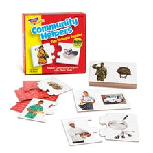 FUN TO KNOW PUZZLES - COMMUNITY HELPERS