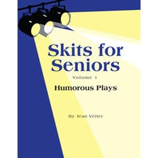 "SKITS FOR SENIORS VOL 1 ""HUMOROUS PLAYS"" BOOK"