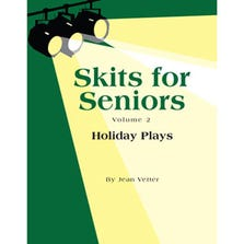 "SKITS FOR SENIORS VOL 2 ""HOLIDAY PLAYS"" BOOK"