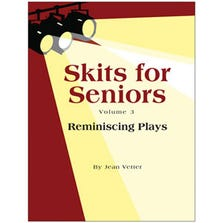 "SKITS FOR SENIORS VOL 3 ""REMINISCING PLAYS"" BOOK"