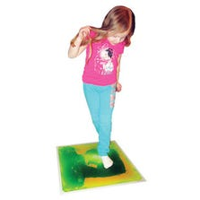 LIQUID SENSORY FLOOR TILE - GREEN - *ASD