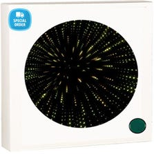 CIRCULAR FIBRE OPTIC PANEL