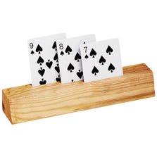 CARD HOLDER WOODEN SLOT - 2 PIECE