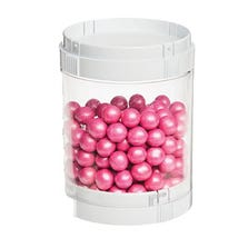 STACKING ORGANIZER - SINGLE CANISTER WITH 2 LIDS