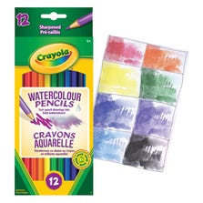 CRAYOLA WATERCOLOUR PENCILS