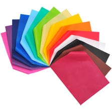 "SMART-FAB CUT SHEETS - 9""x12"" - 45 PK - ASSORTED COLOURS-"